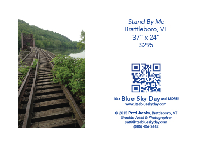 "Stand By Me :: Brattleboro, VT :: 37"" x 24"" :: $295"